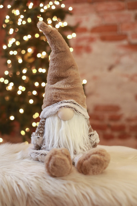 Taupe Gnome Door Stop