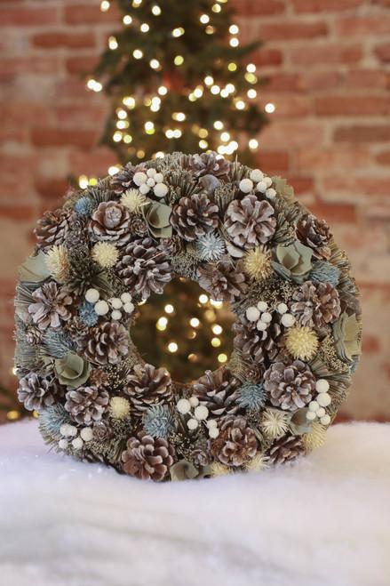 "15"" Garden Wreath"
