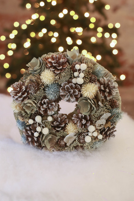 "10"" Garden Wreath"