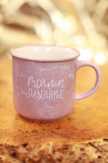 Rachel Allene Mornin' Sunshine Ceramic Marble Mug