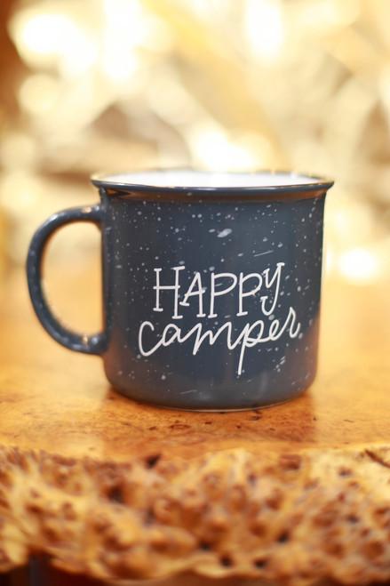 Rachel Allene Happy Camper Ceramic Camper Mug