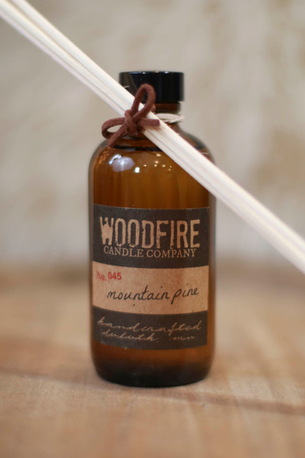 Woodfire Candle Co. Mountain Pine Reed Diffuser
