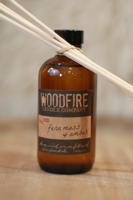 Woodfire Candle Co. Fern Moss and Amber Reed Diffuser