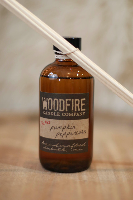 Woodfire Candle Co. Pumpkin Peppercorn Reed Diffuser