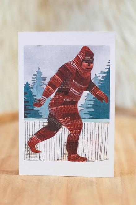 Michele Maule Sasquatch Postcard