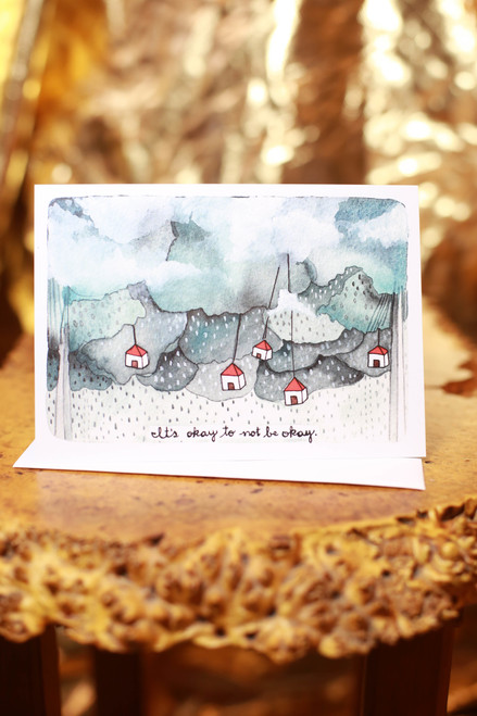 Michele Maule It's Okay to Not Be Okay Greeting Card