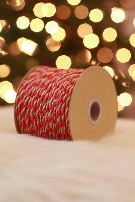 Paper Source Red Jute Twine Cord
