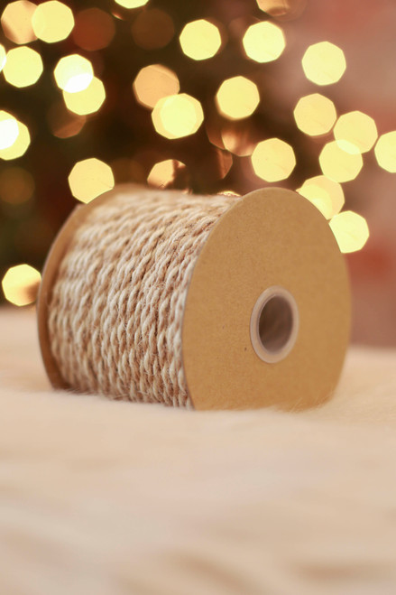 Paper Source Ivory Jute Twine Cord