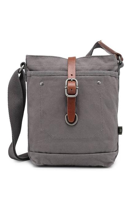 TSD Brand Gray Forest Crossbody Bag