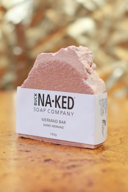 Buck Naked Soap Company Mermaid Shampoo Bar