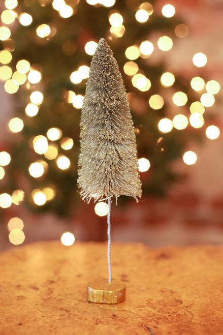 C&F Home Small Champagne Tree
