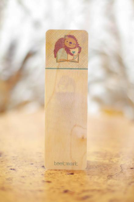 Night Owl Paper Goods Book Sloth Bookmark