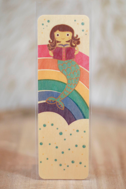 Night Owl Paper Goods Reading Mermaid Bookmark