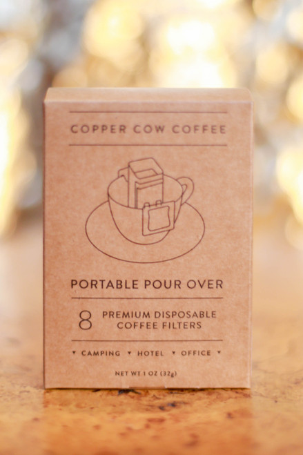 Portable Pour Over Filters | 8-Pack