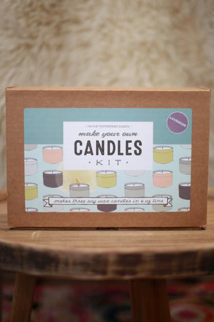 DIY Lavendar Soy Candle Kit