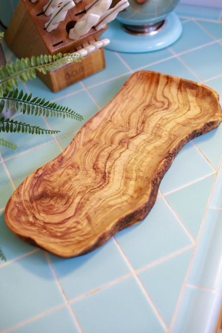 Olive Wood Large Serving Platter