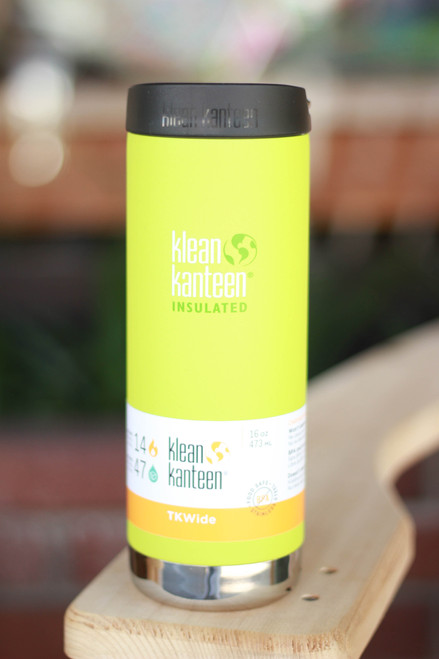 Klean Kanteen Insulated TKWide 16 oz. Canteen in Juicy Pear