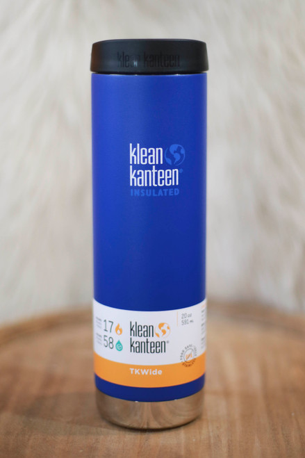 Klean Kanteen Insulated TKWide 20 oz. Canteen in Coastal Waters
