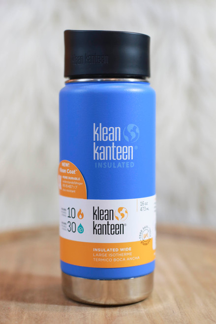 Klean Kanteen Insulated 16 oz. Wide Canteen in Coastal Waters