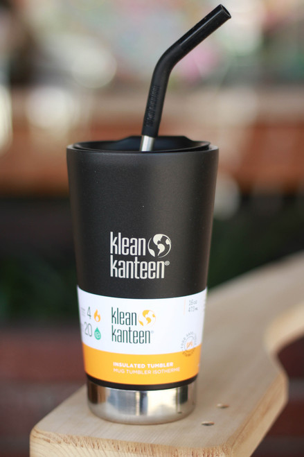 Klean Kanteen Insulated 20 oz. Tumbler in Shale Black