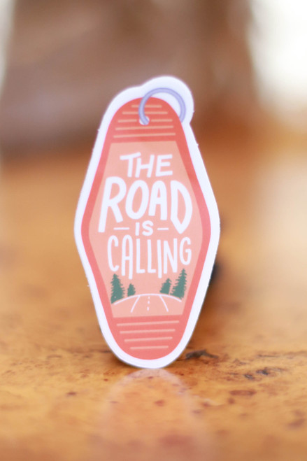 The Road is Calling Sticker