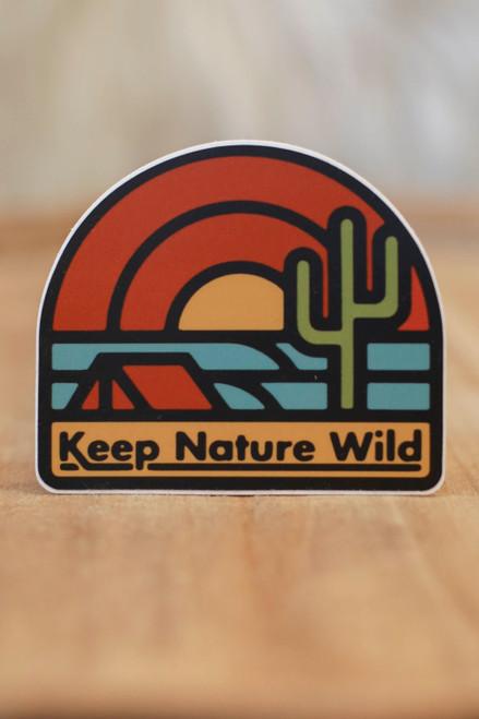Keep the Desert Wild Sticker