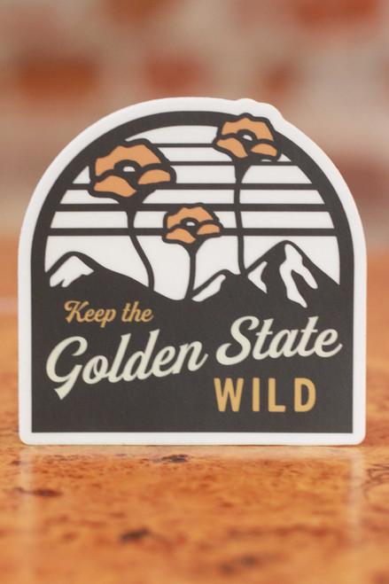 The Golden State Sticker