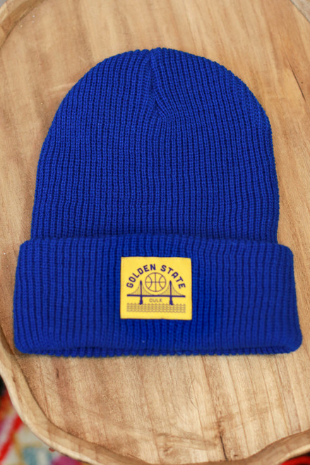 Golden State Blue Beanie