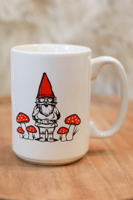 Red Gnome Coffee Mug
