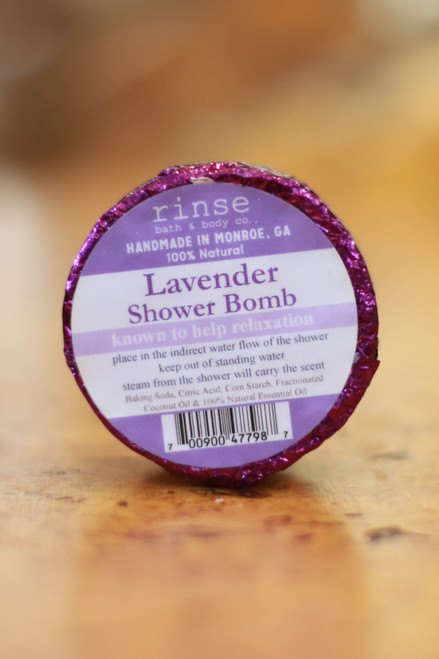 Rinse Lavender Shower Bomb