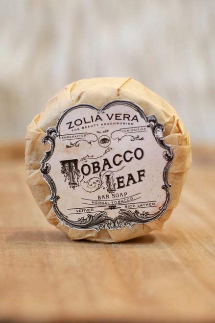 Zolia Vera Tobacco Leaf Bar Soap