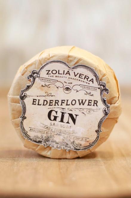 Zolia Vera Elderflower Gin Bar Soap