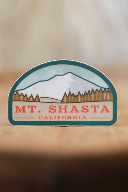 Mt. Shasta Sticker