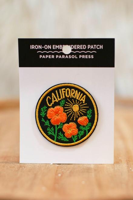 California Poppy Sun Patch