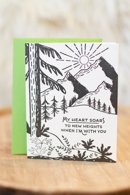 New Heights Greeting Card