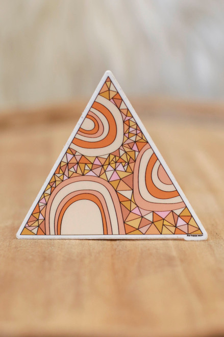 Geometric Kiribati Sticker