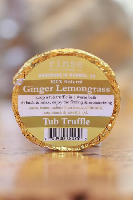 Rinse Ginger Lemongrass Tub Truffle