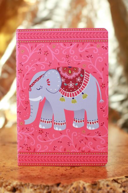 Mandala Elephant A5 Notebook