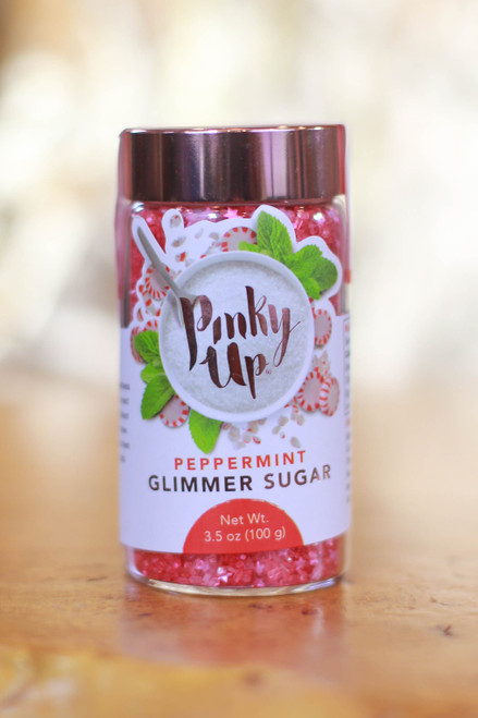 Pinky Up® Peppermint Glimmer Sugar