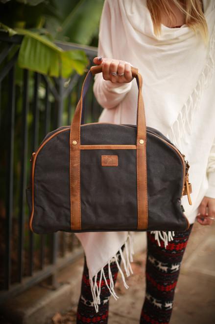 TSD Gray Stone Creek Weekender Bag