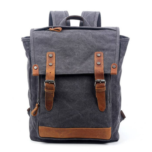 TSD Gray Discovery Backpack