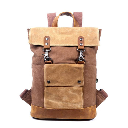 TSD Khaki Hillside Backpack