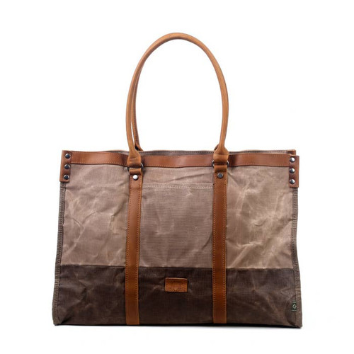TSD Beige Stone Creek Tote Bag