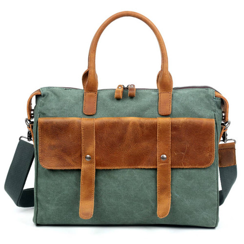 TSD Teal Computer Brief Bag