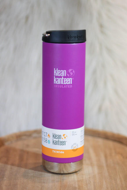 Klean Kanteen Insulated TKWide 20 oz. Canteen in Berry Bright