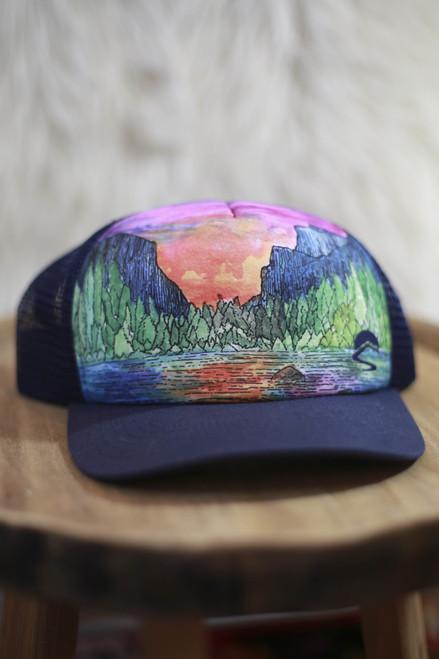 Sunday Afternoon Range of Light Trucker Hat