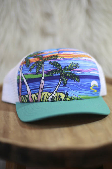 Sunday Afternoon Paradise Trucker Hat