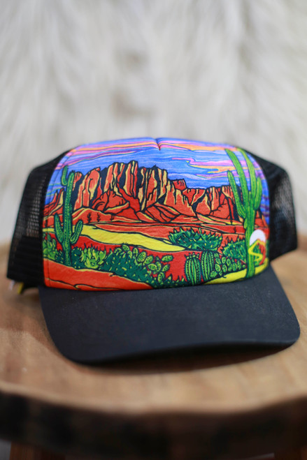 Sunday Afternoon Southwest Desert Trucker Hat