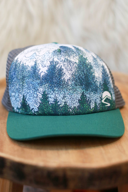 Sunday Afternoon Woodland Trucker Hat
