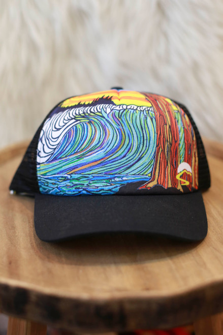 Sunday Afternoon Ocean Trucker Hat